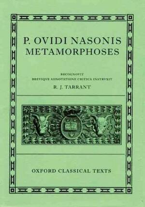 Ovid Metamorphoses -