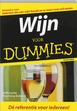 Wijn voor Dummies - E. MacCarthy, Mary Ewing-Mulligan