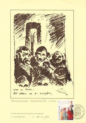 Louis Paul Boon - Het wezen van de angst - BOON, Louis Paul