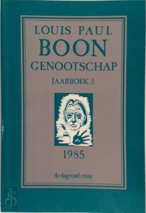 Louis Paul Boon Genootschap - Louis Paul Boon, Willem M. Roggeman