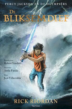 De bliksemdief graphic novel - Rick Riordan