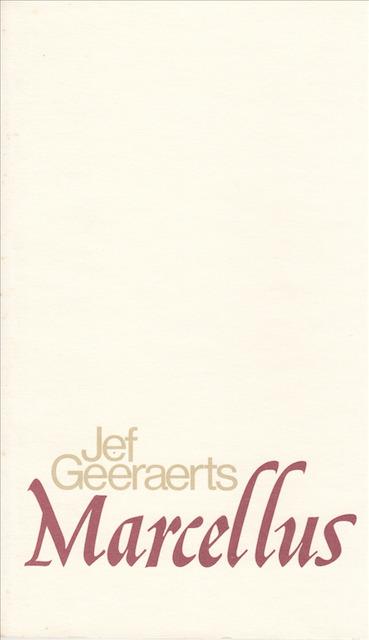 Marcellus [genummerde editie] - Jef Geeraerts