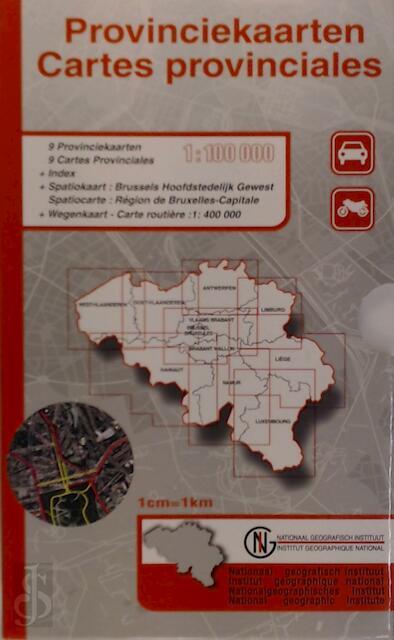 Box 9 Provinciekaarten 1:100 000 geplooid VTPRO.0BOX.PP.1 -
