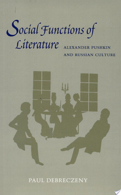 the social functions of literature Oral literature is the repository of the critical knowledge, philosophy, and wisdom  for non-literate societies.