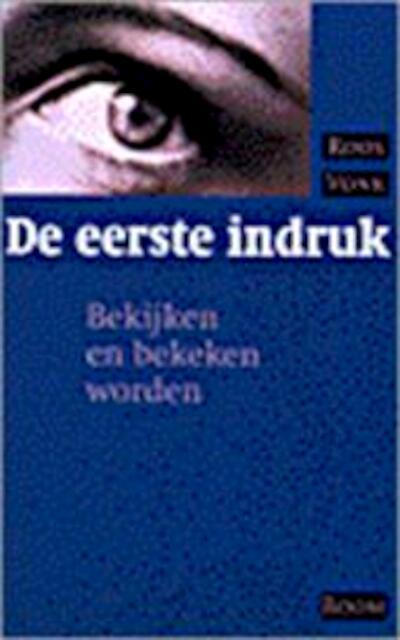 De eerste indruk - Roos Vonk