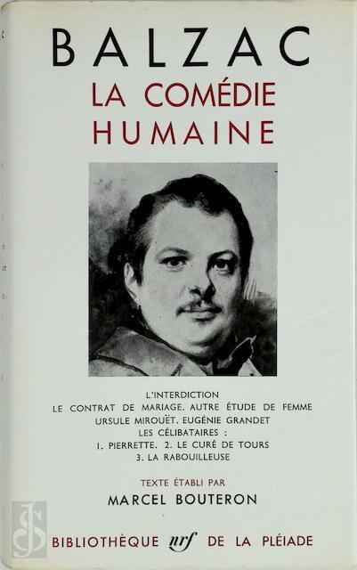 La Comédie Humaine - Tome III - Honoré de Balzac