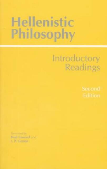 Hellenistic Philosophy -