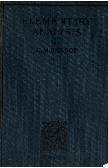 Elementary Analysis - Kenneth A. Ross
