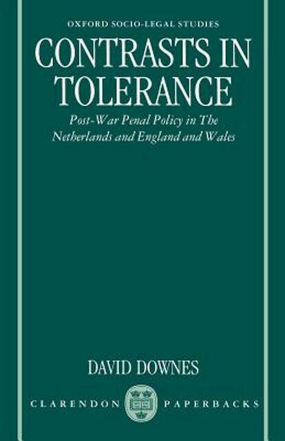 Contrasts in Tolerance - David Downes