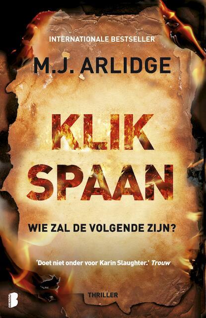 Klikspaan - M.J. Arlidge