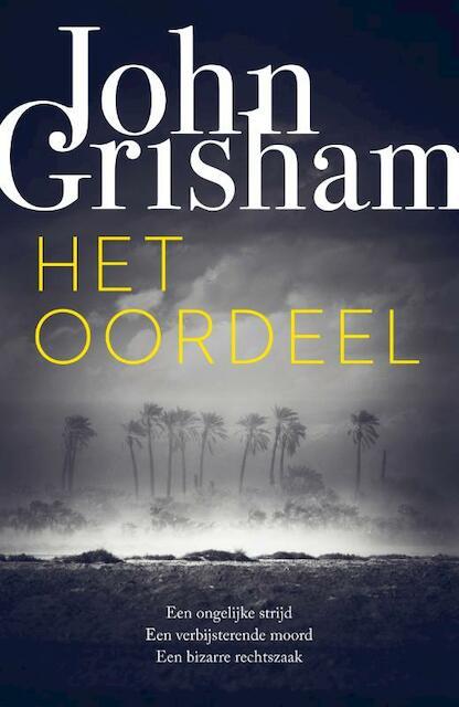 Nieuwe thriller - werktitel - John Grisham