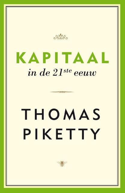 Kapitaal in de 21e eeuw - Thomas Piketty