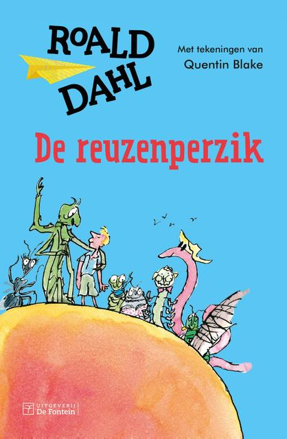 De reuzenperzik (kinderboekenweek 2018) - Roald Dahl