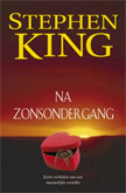 Na zonsondergang - Stephen King