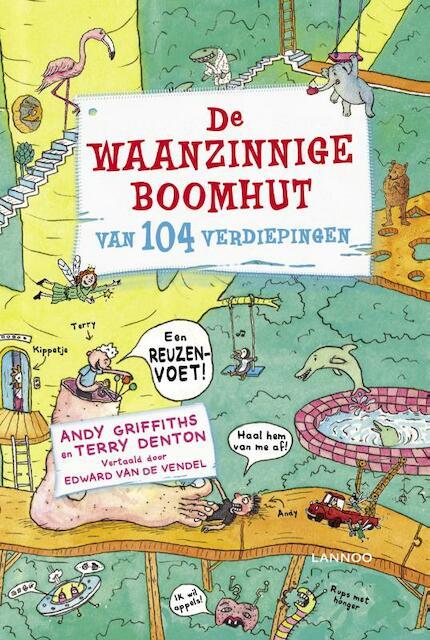 De waanzinnige boomhut van 104 verdiepingen - Andy Griffiths, Terry Denton