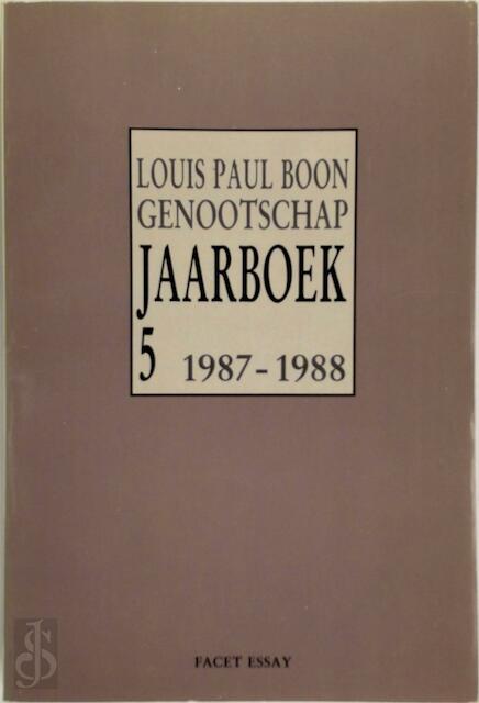 Louis Paul Boon Genootschap - Unknown