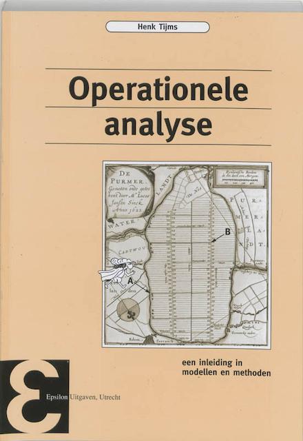 Operationele analyse - H. Tijms