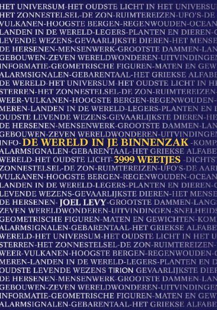De wereld in je binnenzak - J. Levy