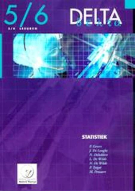 Delta / 5/6 Statistiek 3/4u + cd-rom - Gevers
