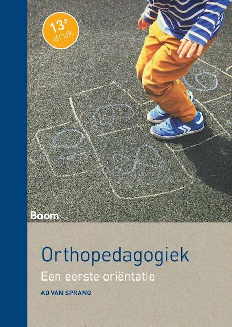 Orthopedagogiek - Ad van Sprang