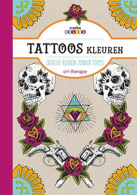 Tattoos kleuren art-therapie -