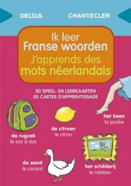 Speel- en leerkaarten - Ik leer Franse woorden (vanaf 1 jaar) - ZNU