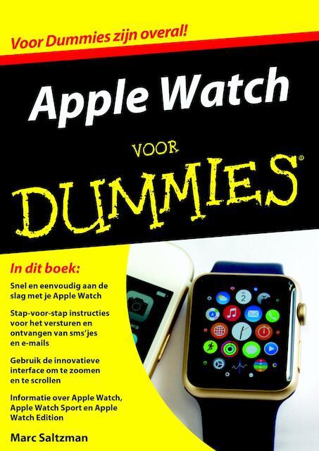 Apple Watch voor Dummies - Marc Saltzman