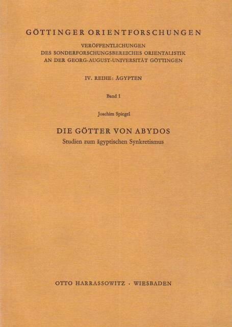 Die Götter von Abydos - Joachim Spiegel