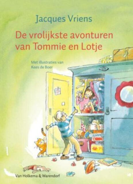 Vrolijkste avonturen van Tommie en Lotje - J. Vriens
