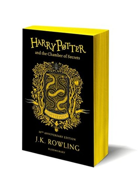 Harry Potter and the Chamber of Secrets - Hufflepuff Edition - J.K. Rowling