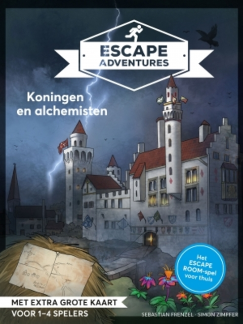Escape room adventures 1 - Sebastian Frenzel, Simon Zimpfer