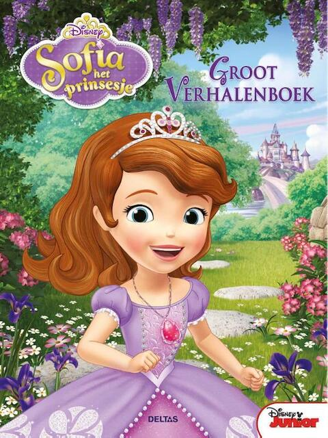 Disney groot verhalenboek Sofia het prinsesje -