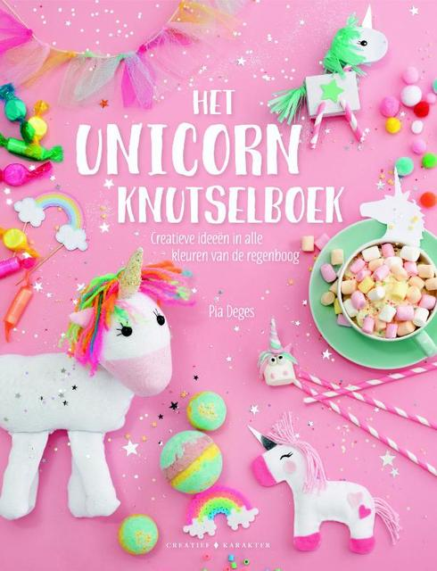 Het unicorn-knutselboek - Pia Deges
