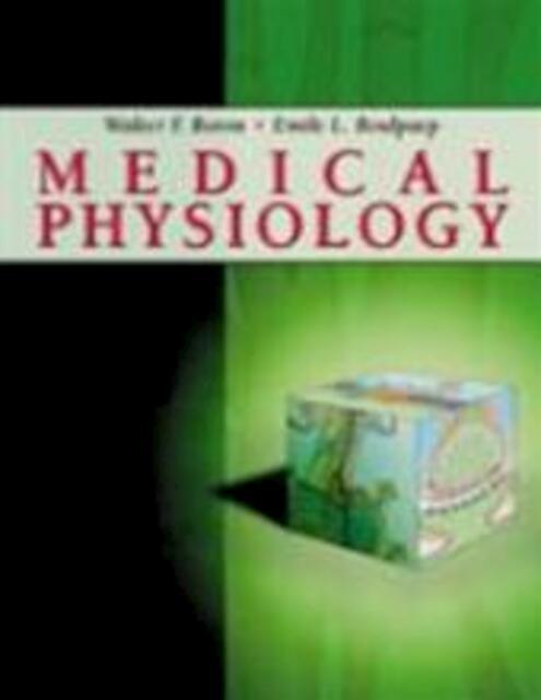 Medical Physiology Boron documents