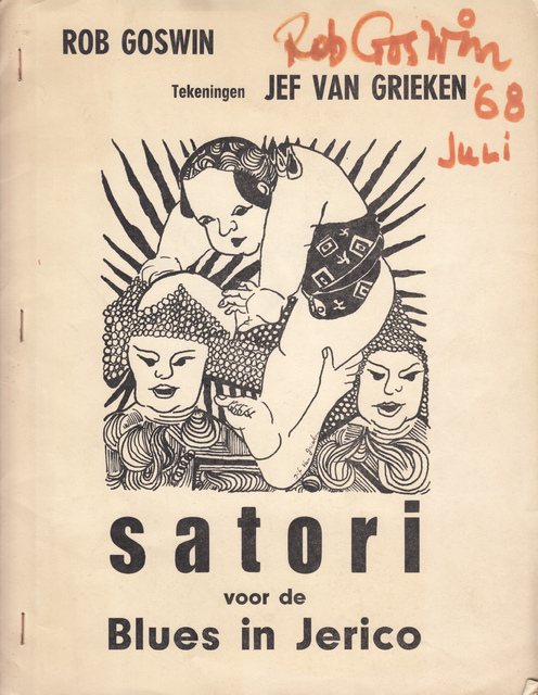 Satori voor de Blues in Jerico - Rob Goswin