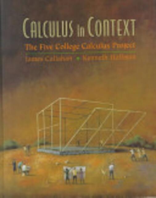 Calculus in Context - James Callahan