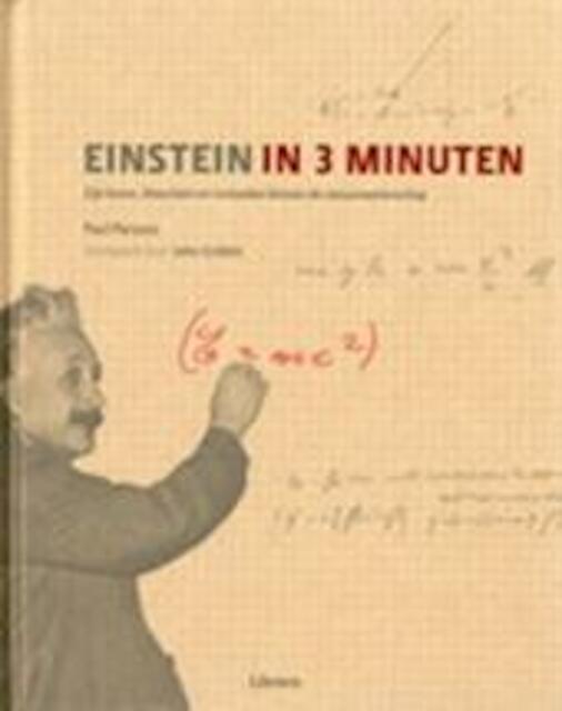 Einstein in 3 minuten - Paul Parsons, Caroline Earle