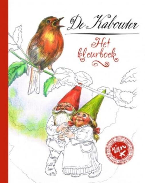 De Kabouter - Het kleurboek - Rien Poortvliet