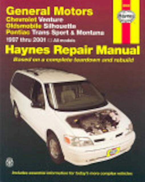 chevrolet venture  oldsmobile silhouette  pontiac trans Haynes Repair Manuals Mazda Haynes Repair Manuals Mazda