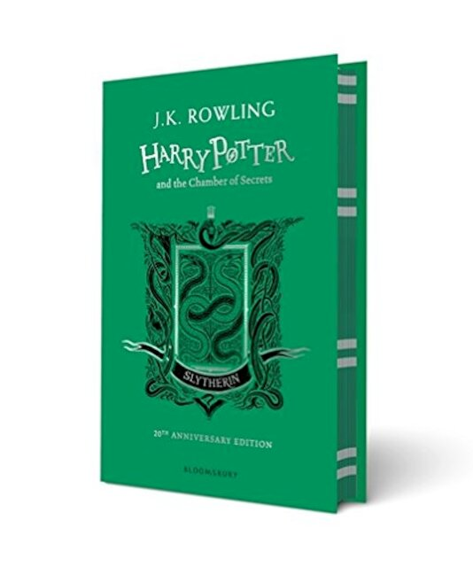 Harry Potter and the Chamber of Secrets - Slytherin Edition - J.K. Rowling