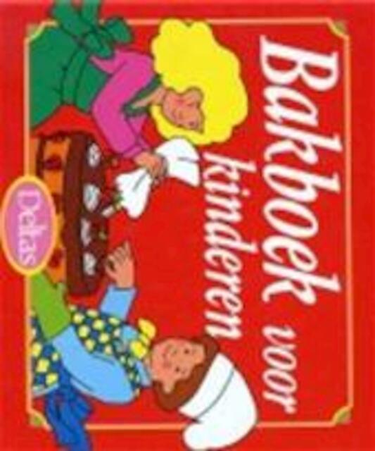 Bakboek voor kinderen - I. Hallemans
