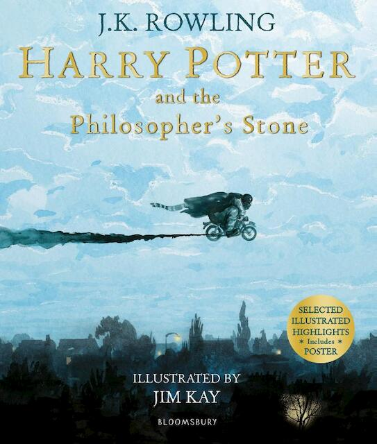 Harry Potter and the Philosopher's Stone. Illustrated Edition - Joanne K. Rowling