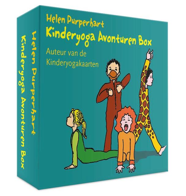 Kinderyoga Avonturen Box - Helen Purperhart