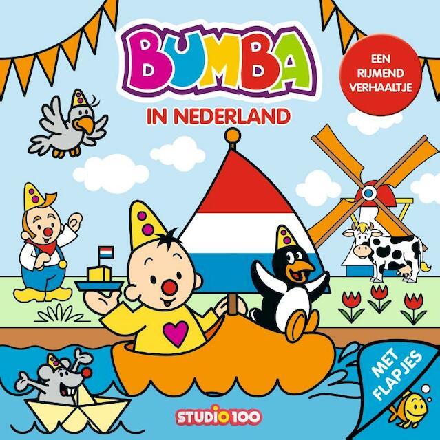 Bumba : kartonboek met flapjes - In Nederland - Gert Verhulst