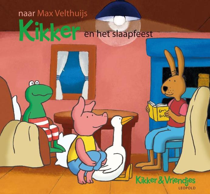 Kikker en het slaapfeest - Max Velthuijs