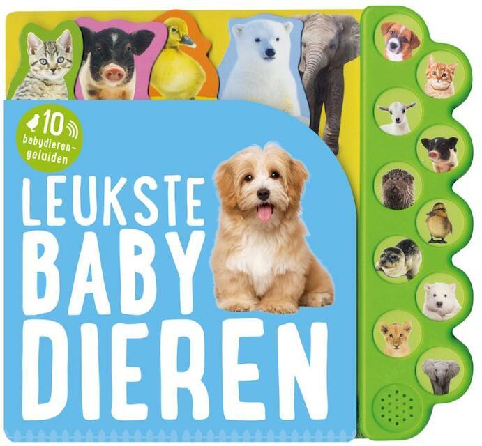 Geluidboek Leukste babydieren -