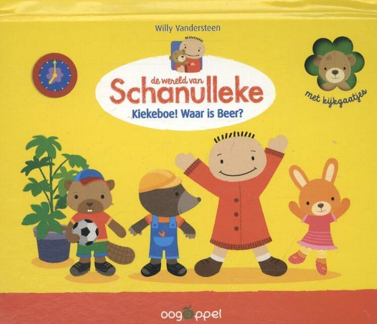 Het kiekeboe-koffertje van Schanulleke - Willy Vandersteen