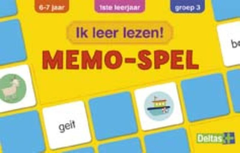 Ik leer lezen! Memo-spel (6-7 j.) - ZNU