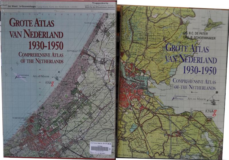 Grote Atlas van Nederland 1930-1950 - Dr. B.C. de Pater, Drs. B. Schoenmaker