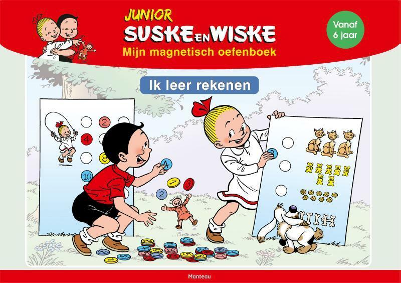Magnetische oefenboek ik leer rekenen - Willy Vandersteen